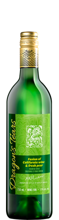 Dragons' Tears Mango Strawberry Fruit Wine by Minhas Winery