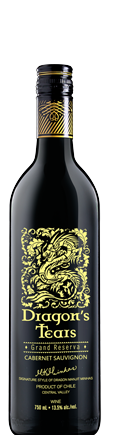 Dragons' Tears wine Cabernet Sauvignon by Minhas Winery