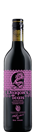 Dragons' Tears Raspberry Fruit Wine by Minhas Winery